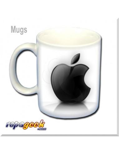 Mug0001 Apple Mac Black