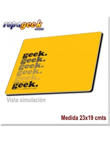 AL0467 Alfombrilla Geek Yellow