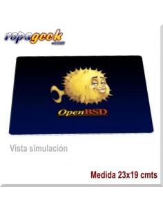 AL0491 Alfombrilla de ratón Open BSD