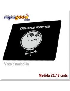 AL0396 Alfombrilla raton Challenge Accepted