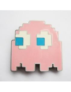 Hebilla PacMan fantasma Rosa