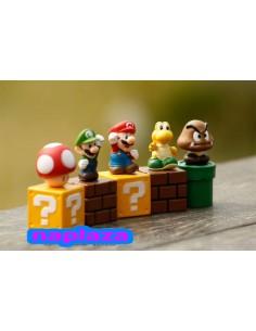 Super Mario Bros PVC figuras de juguete pack 5 unidades
