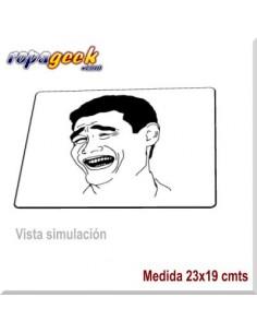 AL0435 Alfombrilla Ratón Yao Ming Memes