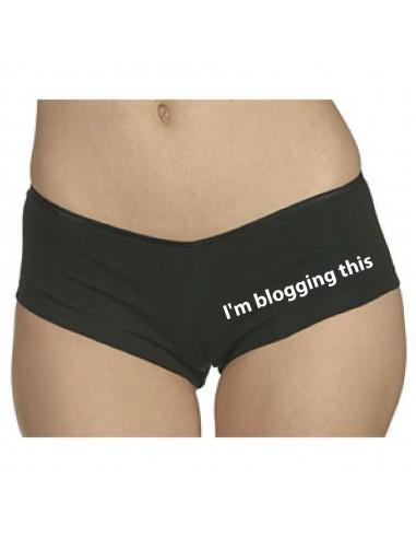 CU0005 I'm blogging this.